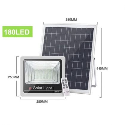 Commercial Grade Solar Flood Light High Power Bright LED 60W 100W 120W