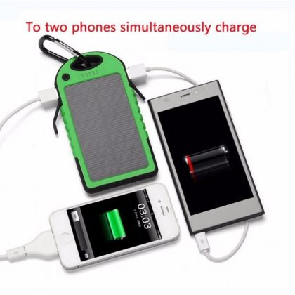 5000mAh Sport Solar Charger Power Bank