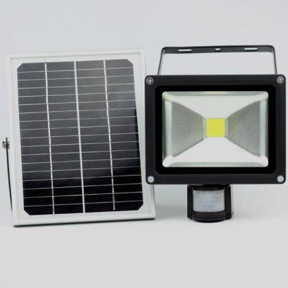 Security Outdoor Solar Motion Sensor Light 10W 20W COB LED