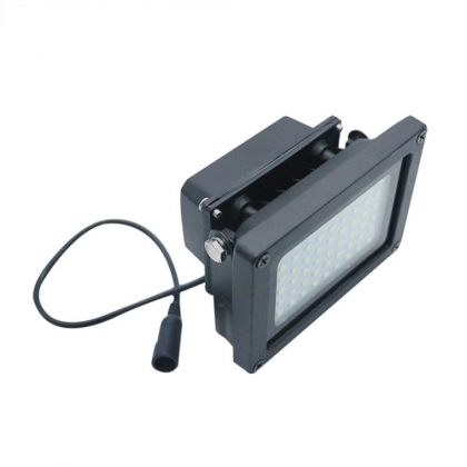 Outdoor 54 LED Solar Flood light with automatic light sensor emergency lamp