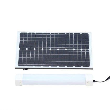 Solar Batten (Tri-Proof) Light 50W Tube with Motion Sensor Remote Control