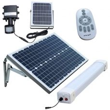 Solar Batten (Tri-Proof) Light 50W Tube with Motion Sensor Remote Control
