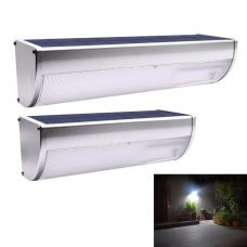 Bright Motion Sensor Solar Wall Light Aluminium Alloy Shell 4 Modes