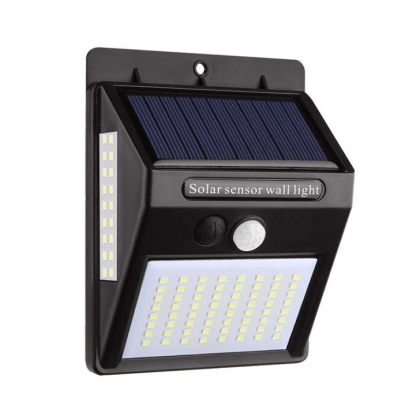 Bright 100 LED Solar Security Wall Light PIR Motion Sensor