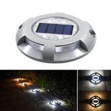 Durable 4 LED Solar Road Path Light High-Shock Resistant Aluminium Alloy