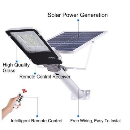 Powerful Outdoor Solar Street Light 20W 40W 70W LED Road Lamp
