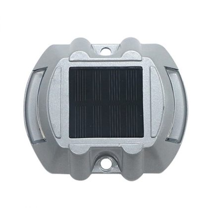 Heavy Duty Solar Road Stud Lights Safety Traffic Markers 6 LED Colours