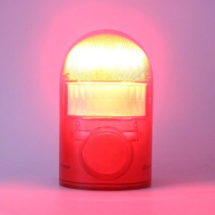 Solar Security Alarm Light Motion Sensor Warning Sound 110DB System