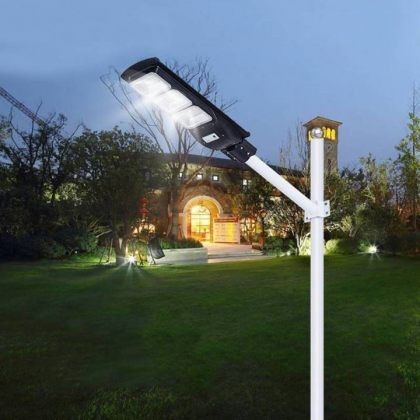 Powerful LED Solar Street Light with Radar Induction Motion Sensor