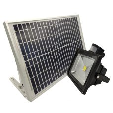 Outdoor Bright 30W Security Solar Motion Sensor Light COB LED Dimmable
