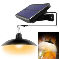 Retro Solar Shed Light Hanging garden Lamp For Indoor Outdoor Lighting