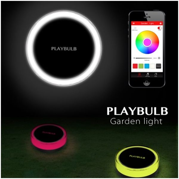 Smart Bluetooth Intelligent Garden Outdoor Color LED Light
