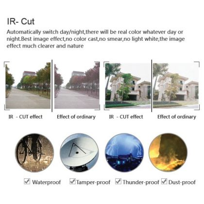 Solar Power Security IP P2P WiFi Camera