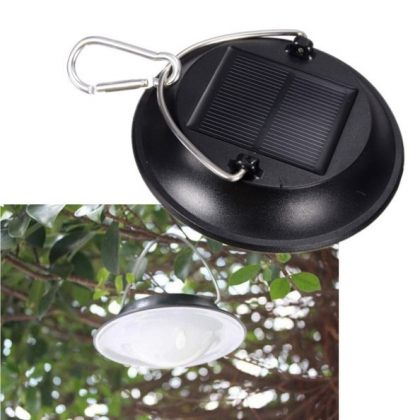 Portable hanging LED Solar camping lights