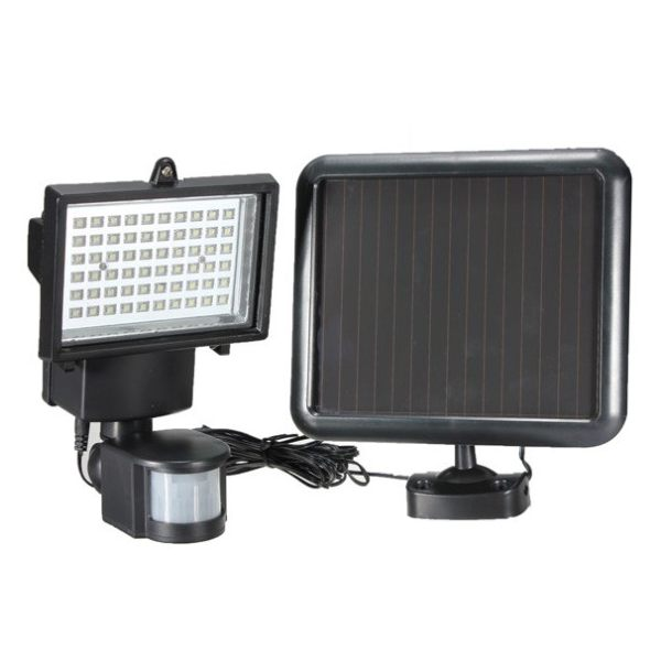 Ultra Bright Motion Sensor Security Solar LED Flood Lamp