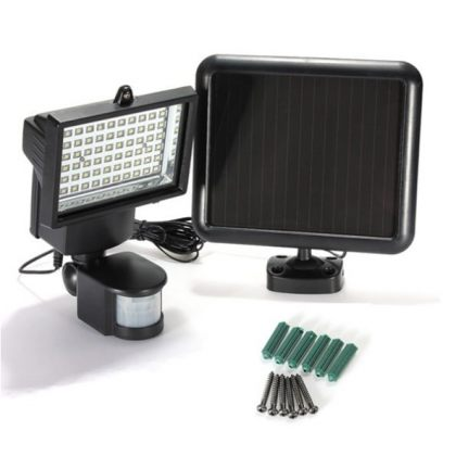 Ultra Bright 60 LED Solar Motion Sensor light for outdoor security