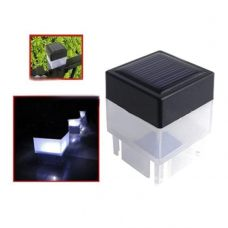 Outdoor LED Solar Fence Post Cap Light for gardne, home & backyard