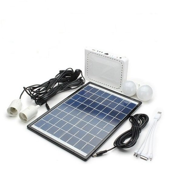 10W Solar Power Generator Lighting System