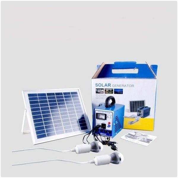 Multi-function Portable 8W Solar Power System
