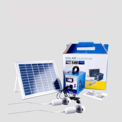 Multi-function Portable 8W Solar Power System Generator