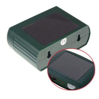 Solar Ultrasonic Pest and Animal Repeller PIR Sensor