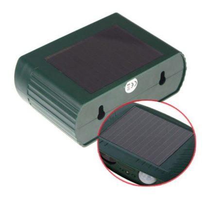 Solar Ultrasonic Pest and Animal Repeller PIR Sensor