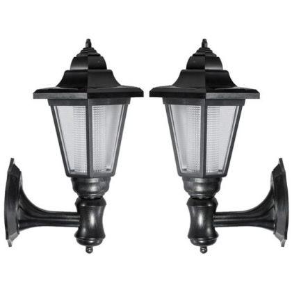 Elegant Outdoor Wall Solar LED Lamp