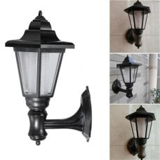 Elegant Outdoor Wall Solar LED Lamp