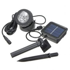 Outdoor Waterproof Pool Solar 6 LED Spotlight