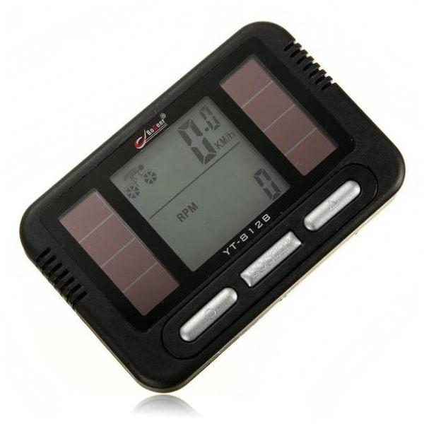 Solar Multifunctional Bike Sport LCD Computer Speedometer Odometer